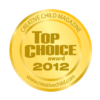 Cool Gel N Cap is a very proud recipient of the Top Choice Award of Creative Child Magazine.