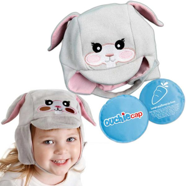 Ouchie Cap - Hands Free Hot and Cold Packs For Your Child's Boo Boo's, Earache's, & More. PLUS a Cozy Cap To Wear Even Without A Boo Boo! Kid's Ice Packs and Heat Packs For Ouchies Have Never Been So Easy! Adorable Cold Therapy and Warm Therapy For Children.