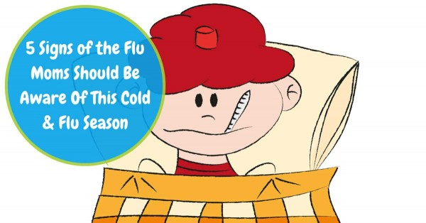 "It's pretty perplexing that a child can be perfectly fine one minute and spike a fever the next. That's how quickly the flu bug can attack. The good thing is flu symptoms usually subside within 2-5 days. The bad thing is influenza in children is serious. It can lead to pneumonia. Here are 5 ""F.A.C.T.S."" regarding signs of the flu."