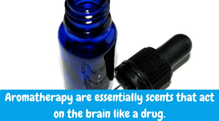 1) Aromatherapy is seriously underrated in the western world. The idea is that scents act on the brain like a drug. You might say peppermint oil is the new acetaminophen. To treat a headache: mix one drop of peppermint oil with unscented body lotion. Dab underneath your child's nose and behind his/her ear
