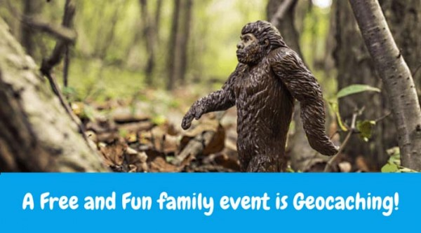 Geocaching – A Free and Fun family event is Geocaching! It's a real world treasure hunt, you bring something to put in the container but you also get to take something for all of your hard work! Visit https://www.geocaching.com/ for more information and to download the official geocaching app.